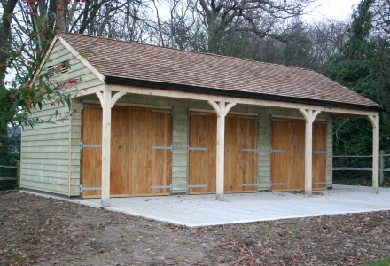 Timber Garages For Sale Broadfield Stables